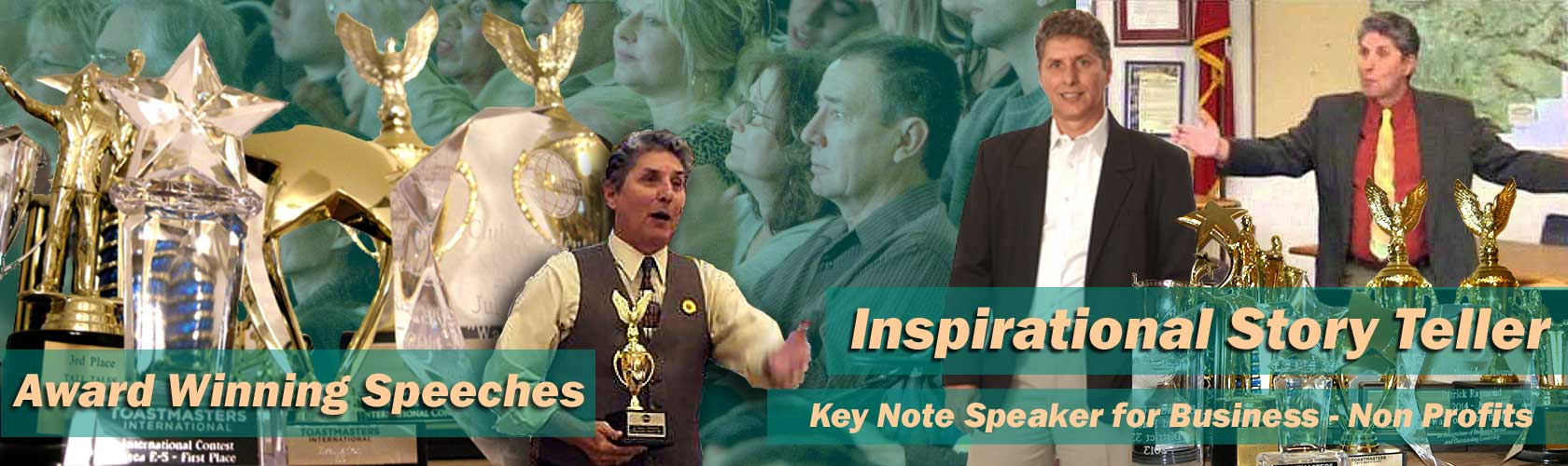 Speaker Inspirational Motivational Patrick Raymond